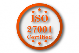 Certification according to ISO/IEC 27001